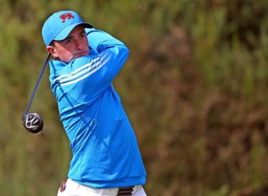 Greystones golfer Paul Dunne.