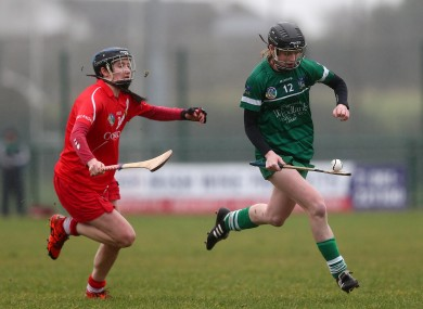 Niamh Mulcahy was in impressive form for Cork against Limerick.