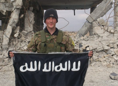 Joshua Molloy first began fighting with Kurdish resistance fighters the YPG in march of last year.