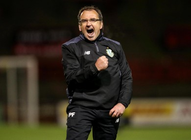 There's no doubting how much Pat Fenlon enjoyed this one.