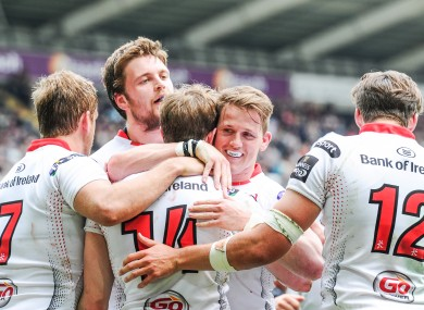 It was a good day for Ulster in Swansea.
