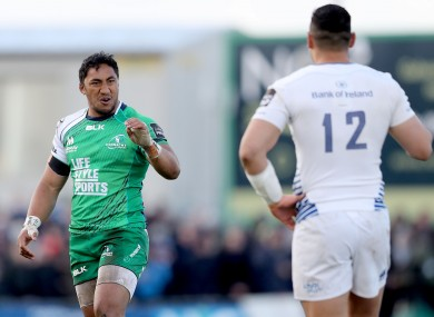 Aki and Te'o were formidable adversaries in the Sportsground.