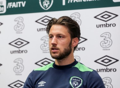 Arter was speaking to the media earlier today.