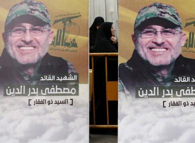 Pictures of slain top commander Mustafa Badreddine