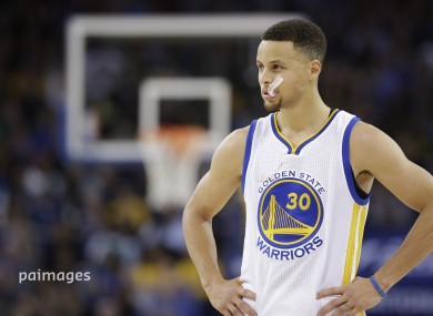 Curry joins other back to back MVP winners like LeBron James.