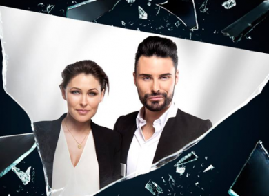 Biog Brother presenters Emma Willis and Rylan Clark-Neal.