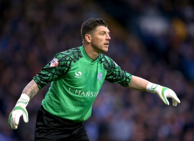 Sheffield Wednesday's Keiren Westwood has made 37 appearances in all competitions this season.