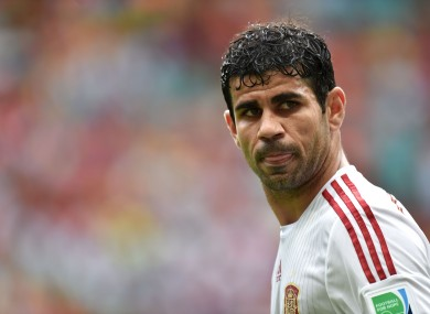 Costa won't be at Euro 2016 next month.