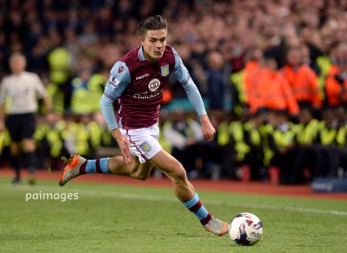 Grealish will wear an England jersey for the first time in Toulon.
