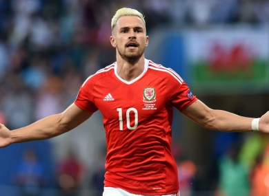 the best attitude 268df e677b Aaron Ramsey backs Wales to extend their stay in France · The42