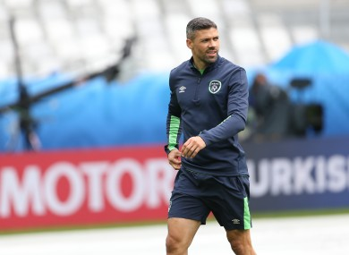 Jon Walters has not played since Ireland's opening match against Sweden.