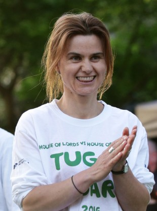 File photo of Jo Cox MP who was killed in an attack yesterday.