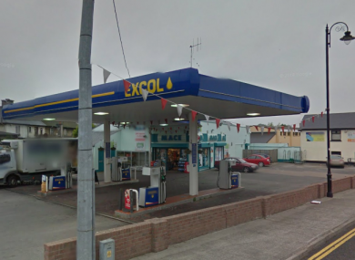 McCormack's filling station in Sligo