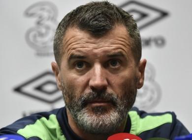 Ireland assistant, Roy Keane