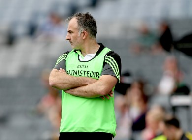 Kerry junior football manager Stephen Wallace