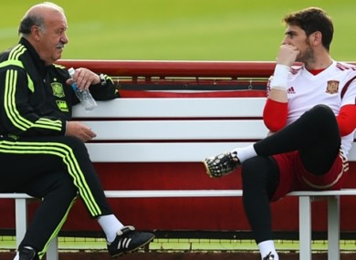 Del Bosque has claimed his relationship with Casillas deteriorated after he dropped him in favour of making David de Gea his new number one.