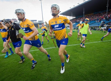 Aron Shanagher started for Clare last Saturday against Limerick