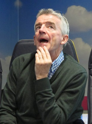 Michael O'Leary says he was