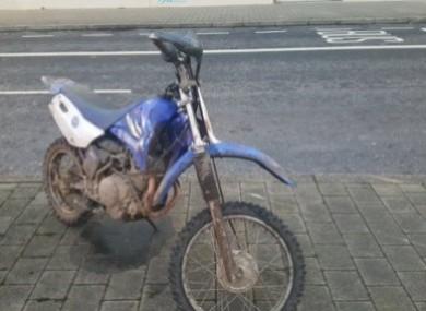 File photo of a scrambler bike.