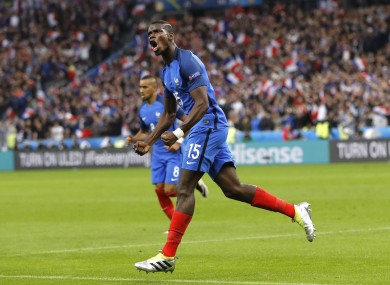 Paul Pogba has impressed for France at Euro 2016.
