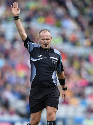 Lane: refereed Tipperary's quarter-final win over Galway.