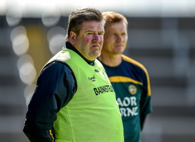 Eamonn Kelly has departed in Offaly.