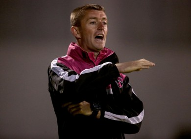 Wexford manager Gary Hunt.