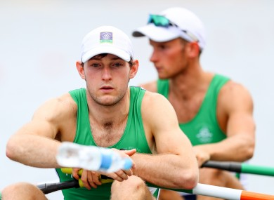 Paul O'Donovan is chasing a world championship gold on his own.