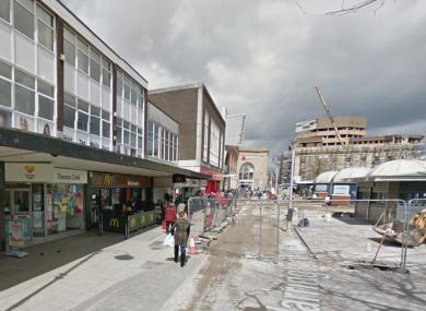 McDonald's on Warrington Street in Ashton-under-Lyne