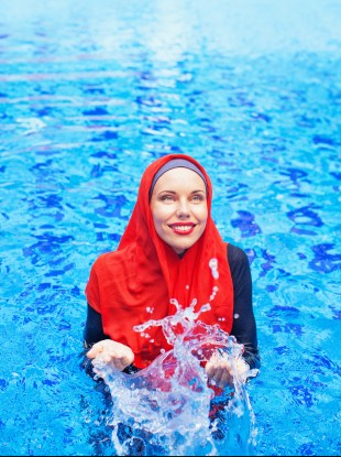 d261e1c2cfb07 Designer says burkini bans in France have boosted sales of the swimwear