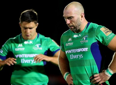 Dave Heffernan and John Muldoon: Connacht collapsed in the last 10 minutes against the Ospreys.