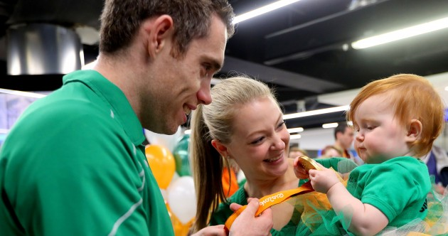 Ireland's Paralympic team - and their 11 medals - return home to a hero's welcome