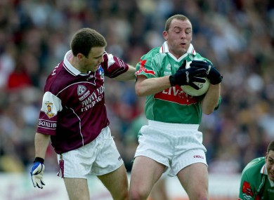 Kenneth Mortimer in action against Galway in 2003.