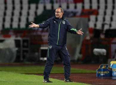 O'Neill's side will be looking to secure six points from their next two games.