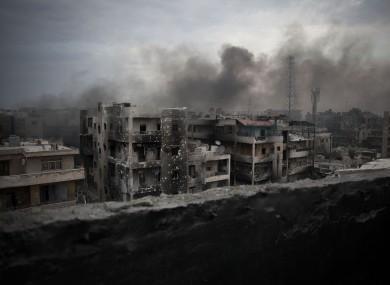 File photo of the Saif Al Dawla district in Aleppo.