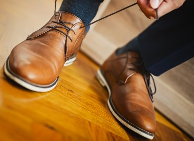 374c7d4e7ade Wearing brown shoes with a suit could lose you a job in banking