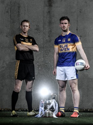 Big games ahead for Dr Crokes Colm Cooper and Kilcar's Patrick McBrearty.