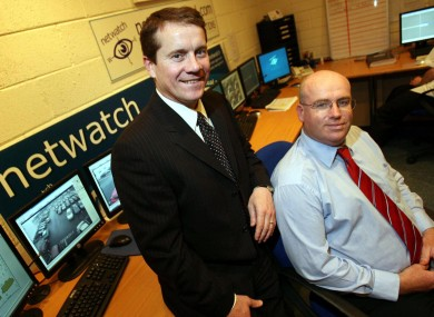 Netwatch founders Niall Kelly and David Walsh.