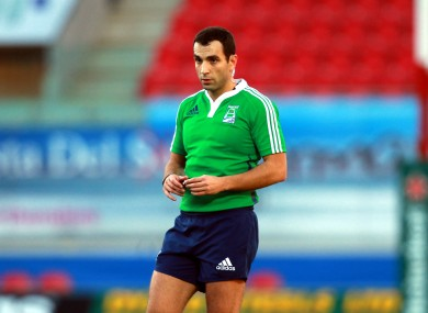 Mathieu Raynal will take charge of Ireland v New Zealand in Chicago.
