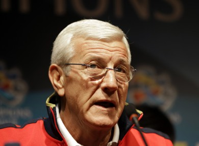 Lippi won five Scudetto's in charge of Juventus.