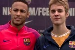 Watch: Barcelona had a special guest at training ahead of their Champions League clash at Celtic