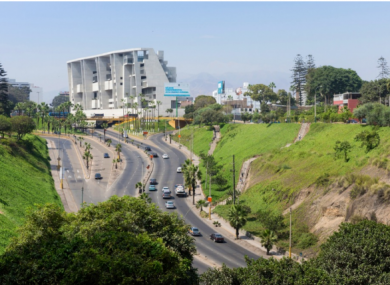 The new University of Engineering in Lima, Peru.