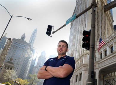 Bright lights, big city: Not where CJ Stander feels at home.