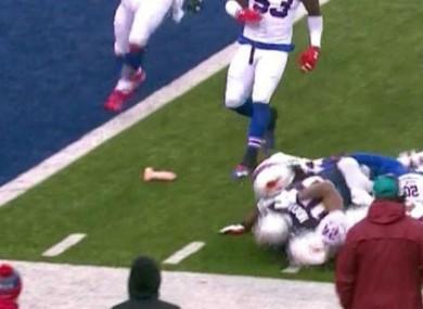 Sex toy in Patriots-Bills game