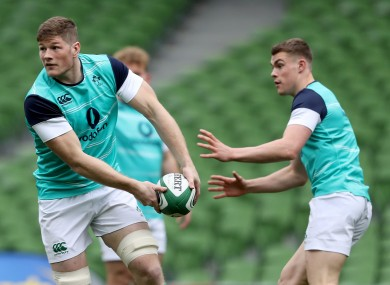 Jack O'Donoghue and Garry Ringrose have both captained the U20s in recent years.