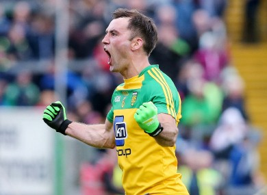 Karl Lacey is a passionate Donegal man.