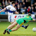 Diarmuid Connolly rounds off the year with a goal in St Vincent's win over Rhode.<span class=