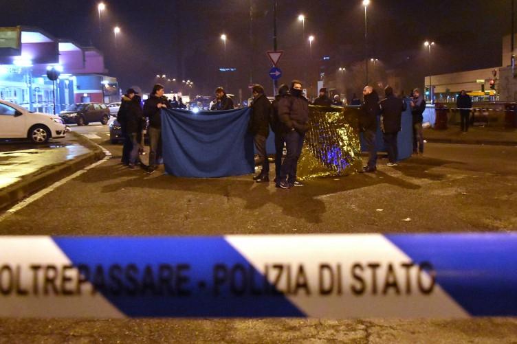 b0e28f9752a4a4 Merkel thanks Italy after Berlin market attack suspect shot dead in Milan