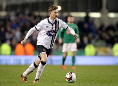 Ronan Finn was named man of the match following Dundalk's defeat to Cork City in last month's FAI Cup final.