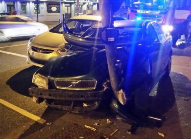 A non-fatal crash in Dublin this evening.